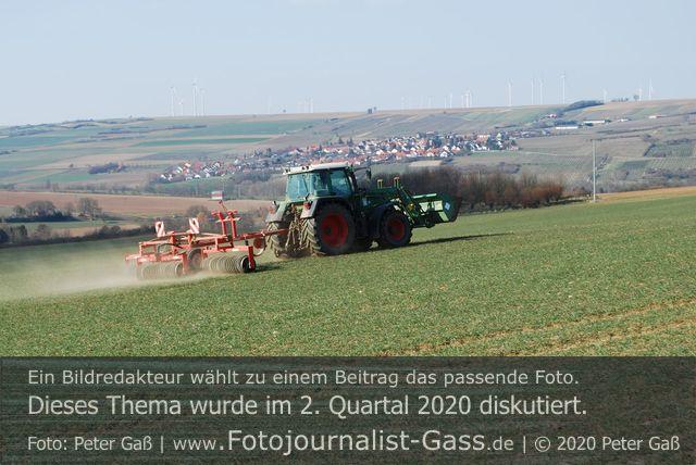 Wertschätzung der Landwirtschaft steigt.  Foto: Peter Gaß