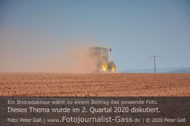Viel zu wenig Niederschlag im Frühjahr 2020.  Foto: Peter Gaß