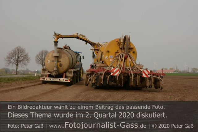 Bundesregierung plant Fördermittel zum Düngerecht. Foto: Peter Gaß