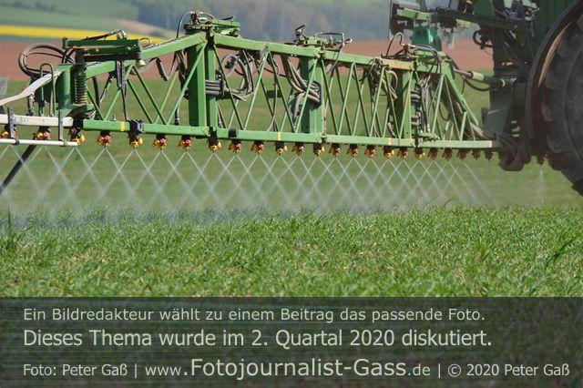Die Landwirte führen ihre Bestände. Foto: Peter Gaß