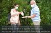 Mobile Händedesinfektion. Foto: Peter Gaß