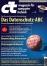 c't erklärt DS-GVO-Begriffe. Cover-Abbildung: Heise Gruppe GmbH & Co. KG.