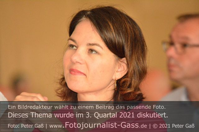Titelbild Diskutiert, 3. Quartal 2021: 26. September 2021. Bundestagswahl. Foto: Peter Gaß.