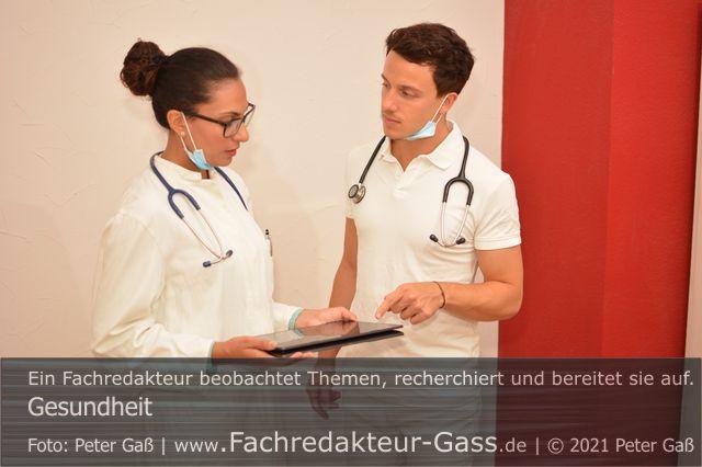 """Gesundheit: Internistenkongress 2021 """"Von der Krise lernen"""". Foto: Peter Gaß."""