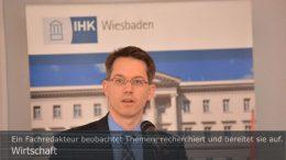 Wirtschaft: Dr. Christian Gastl, Präsident der IHK Wiesbaden. Foto: Peter Gaß
