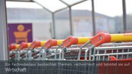+++++ Wirtschaft: Der Einzelhandel wuchs 2020 um mehr als 5 %. Foto: Peter Gaß.